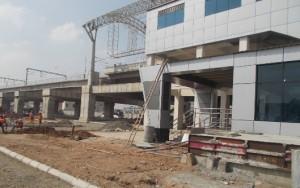 Koyambedu Station Work in Progress(23-11-2014)