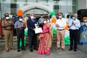Independance Day Celebrations at CMRL Admin Building on 15th August 2021