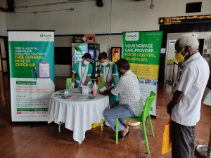 A total of 260 persons got benefited from the Free General Medical Health Camp held at Metro Stations today (22.09.2021).