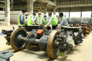 First Metro Train Set of Chennai Metro Overhauled for Passenger Service