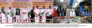 Inauguration of the last stretch of the Chennai Metro Rail Project