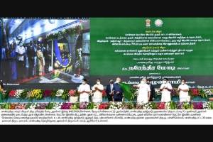 Narendra Modi inaugurated the passenger services in the Phase-I Extension of CMRL Project